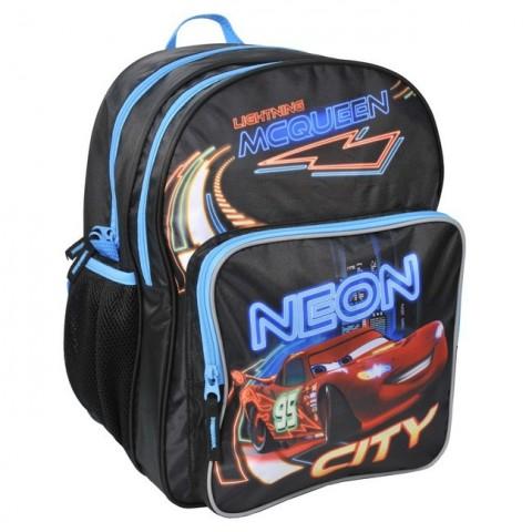 Plecak szkolny Auta Cars czarno niebieski
