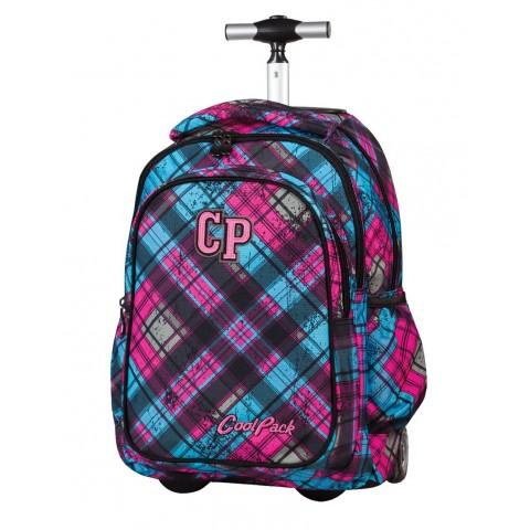 Plecak na kółkach CoolPack Junior STRATFORD CP 043a Różowo Niebieski