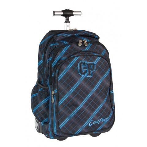 Plecak CoolPack na kółkach dla chłopca w kratkę - CP 342