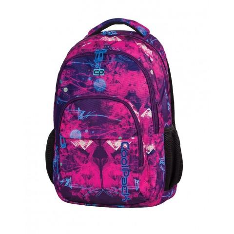 Plecak młodzieżowy CoolPack CP lekki różowo - fioletowy deseń BASIC PURPLE DESERT 538