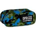 Saszetka podwójna CoolPack CLEVER CAMOUFLAGE BLUE CP 612