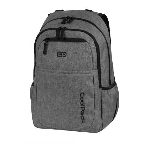 Plecak młodzieżowy na laptop CoolPack CP szary RAMBLER SNOW GREY 593
