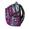 Plecak młodzieżowy CoolPack CP - 4 przegrody FACTOR ZEBRA 434
