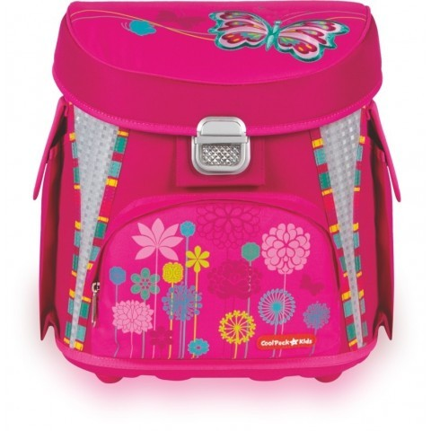 TORNISTER COOLPACK CP BUTTERFLY - RÓŻOWY Z MOTYLEM