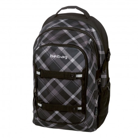 PLECAK HERLITZ BE.BAG BEAT BLACK CHECKED