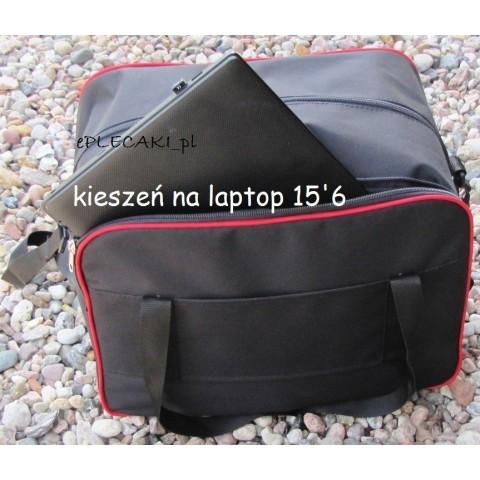 Torba - mały bagaż podręczny Wizzair + kieszeń na laptop