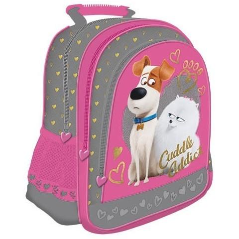 Plecak szkolny Sekretne życie zwierzaków domowych Pets różowy dla dziewczynki