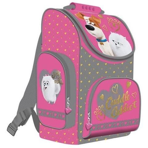 TORNISTER szkolny Sekretne życie zwierzaków domowych Pets różowy dla dziewczynki