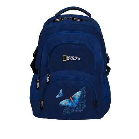 Plecak młodzieżowy NATIONAL GEOGRAPHIC - granatowy motylek