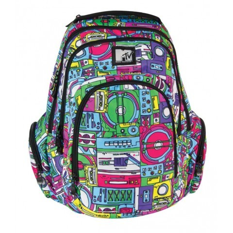 Plecak młodzieżowy duży MTV Coolpack Music