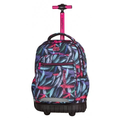 Plecak na kółkach CoolPack CP w kolorowe pióra SWIFT PLUMES 964