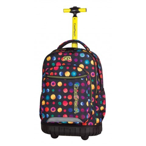 Plecak na kółkach CoolPack CP w kolorowe kropki SWIFT CONFETTI 898