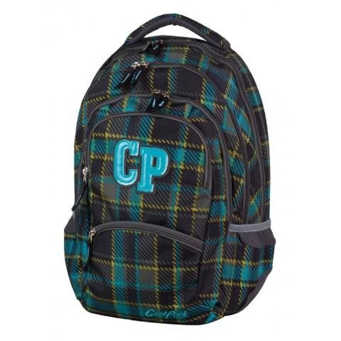 Plecak młodzieżowy CoolPack CP COLLEGE MARENGO 686 ciemna kratka 5 przegród