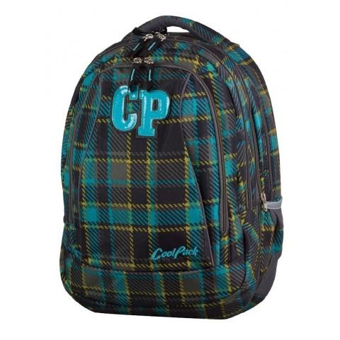 Plecak młodzieżowy CoolPack CP COMBO MARENGO 688 ciemna kratka - 2w1