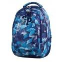 Plecak młodzieżowy CoolPack CP COMBO FROZEN BLUE 639 niebieskie kryształy - 2w1