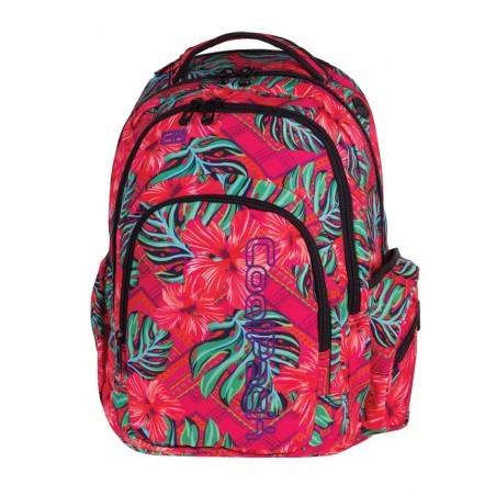 Plecak młodzieżowy CoolPack CP SPARK II CARIBBEAN BEACH w egzotyczne kwiaty