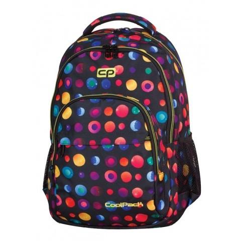 Plecak młodzieżowy CoolPack CP BASIC CONFETTI 896 lekki w kolorowe kropki
