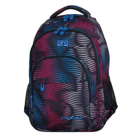 Plecak młodzieżowy CoolPack CP BASIC FALSHING LAVA 945 lekki w kolorowe fale