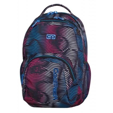 Plecak młodzieżowy CoolPack CP SMASH FLASHING LAVA 944 w kolorowe paski