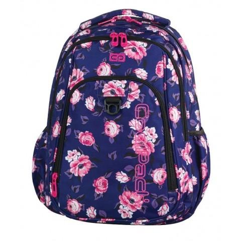 Plecak młodzieżowy CoolPack CP STRIKE ROSE GARDEN 807 granatowy w róże