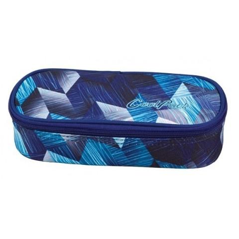 Piórnik jednokomorowy / etui CoolPack CAMPUS FROZEN BLUE CP 642