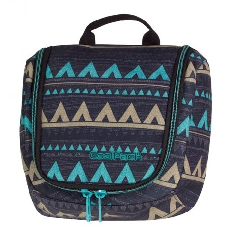 Kosmetyczka CoolPack CAMP VANITY EMERALD ETHNIC CP 934