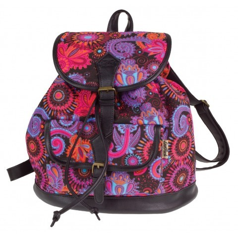 Plecak vintage CoolPack różowo-fioletowy CP FIESTA CARNIVAL 1029