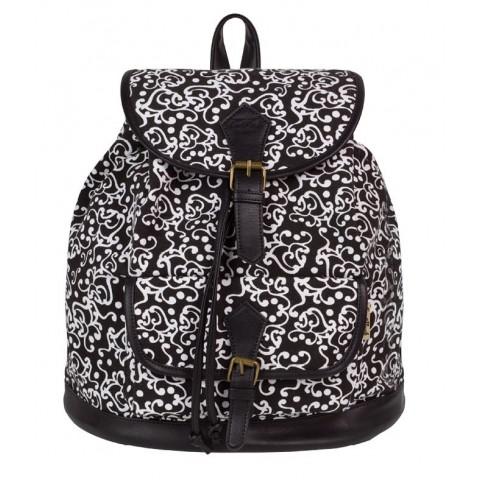 Plecak vintage CoolPack CP czarno-biały FIESTA ARABESQUE 1027