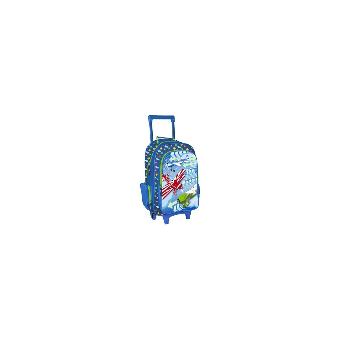 Plecak na kółkach Samoloty