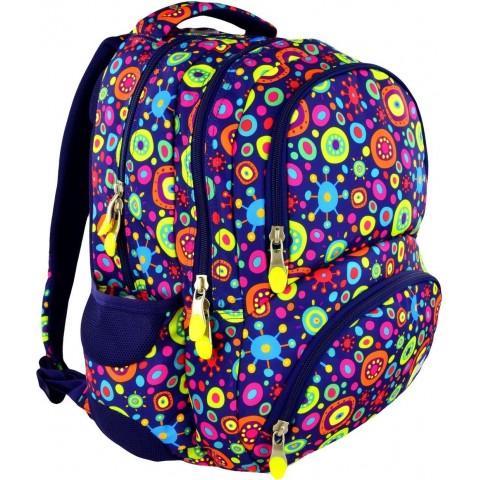Plecak młodzieżowy 07 ST.RIGHT JELLY kolorowe cukierki
