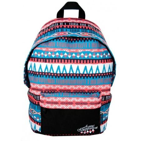 Plecak młodzieżowy we wzory