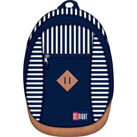 Plecak miejski, wycieczkowy 09 ST.RIGHT MARINE marynarskie paski