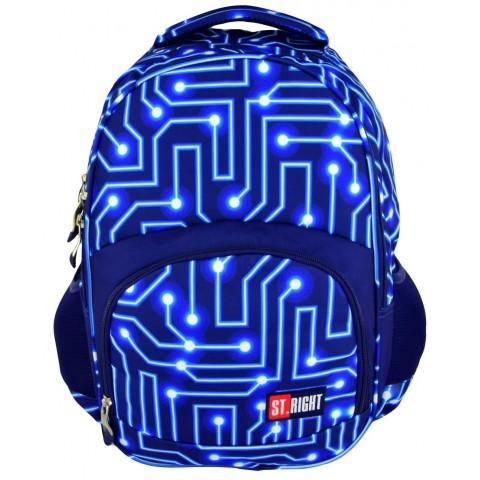 Plecak młodzieżowy 23 ST.RIGHT ELECTRO