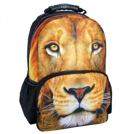 Plecak Młodzieżowy Szkolny FULLPRINT PHOTO ANIMAL LEW