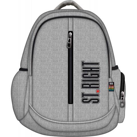 Plecak młodzieżowy 31 ST.RIGHT MELANGE szary