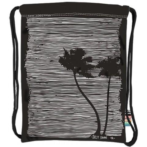 Worek / plecak na sznurkach ST.RIGHT PALM paski i palmy