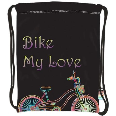 Worek / plecak na sznurkach ST.RIGHT BIKE z rowerem