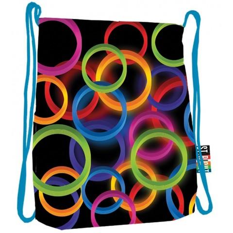 Worek / plecak na sznurkach ST.RIGHT NEON CIRCLES