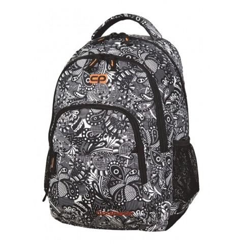 Plecak młodzieżowy CoolPack CP BASIC BLACK LACE do kolorowania 1087