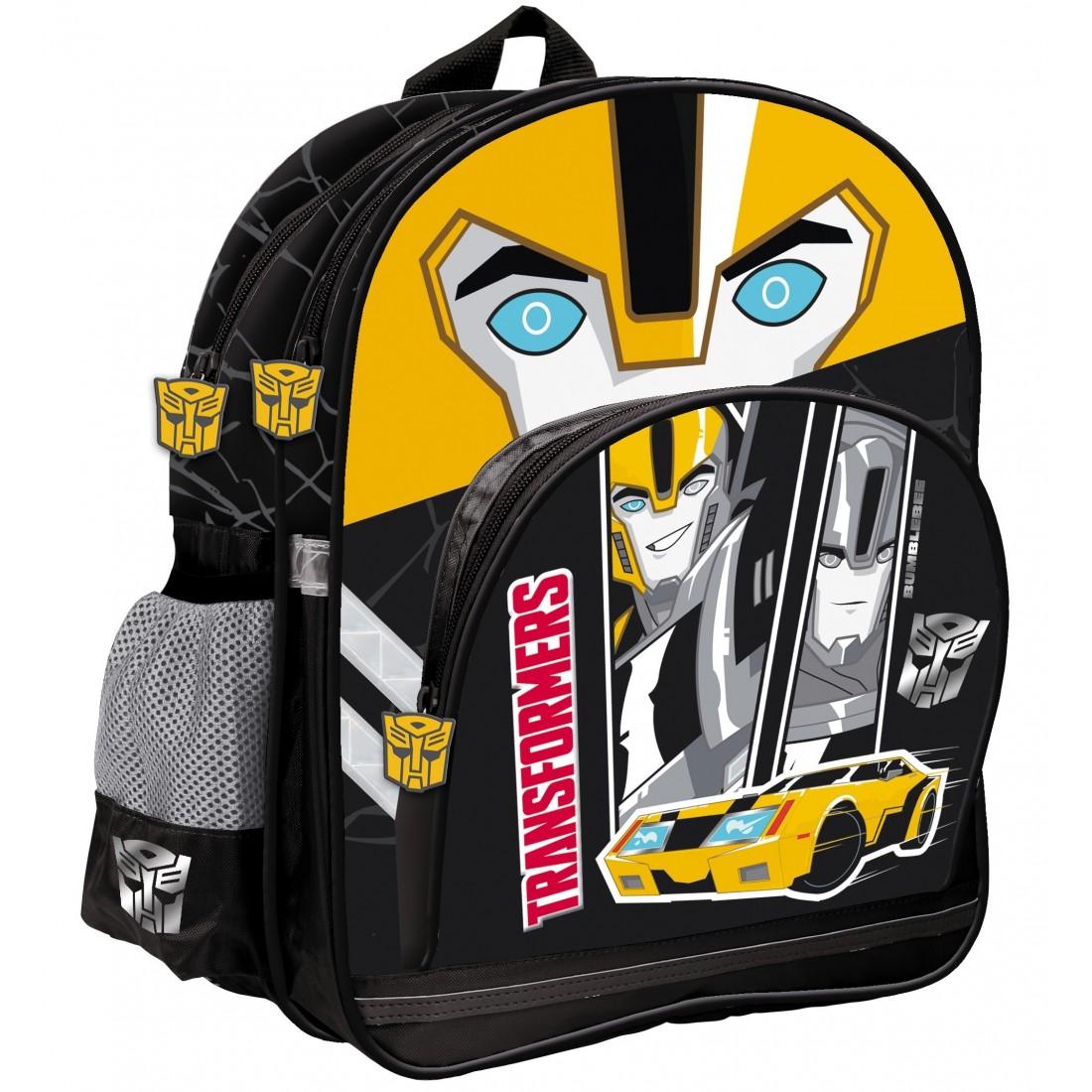 Plecak Szkolny Transformers Bumblebee - plecak-tornister.pl