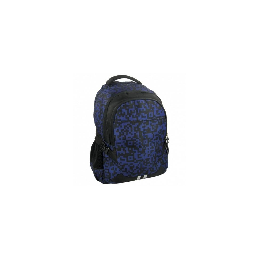 Plecak Jetbag Młodzieżowy Granatowo Czarny - plecak-tornister.pl