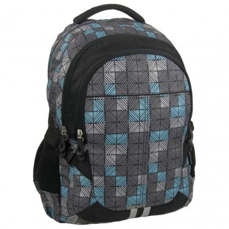 Plecak Jetbag Młodzieżowy Turkusowo Szary