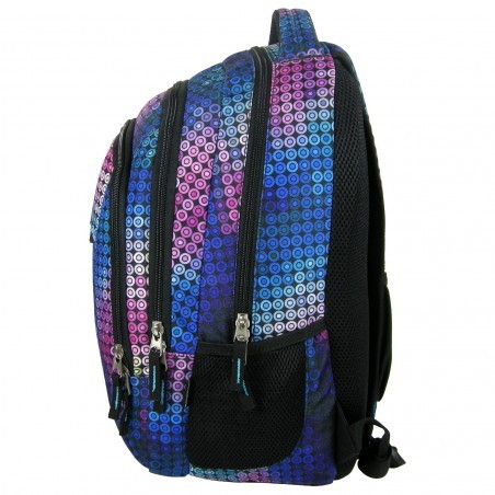 Plecak Młodzieżowy Kolorowe Kółka