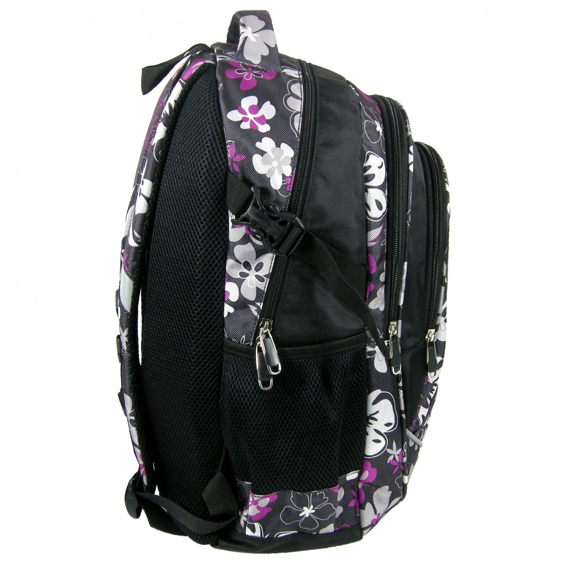Plecak Jetbag Młodzieżowy Kwiaty - plecak-tornister.pl