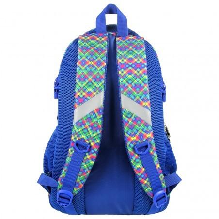 Plecak Młodzieżowy Kolorowe Wzorki