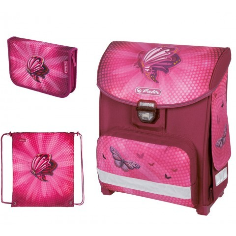Zestaw Herlitz Smart 3el. Butterfly Power Motyl