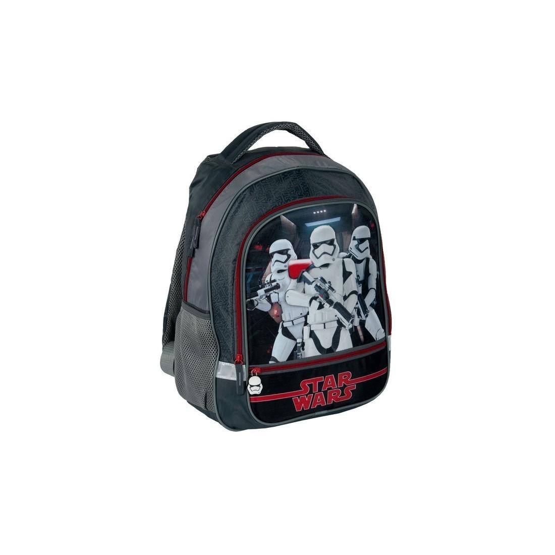 9cc1c9e9532ff Plecak szkolny Star Wars czarny ze Szturmowcami - plecak-tornister.pl