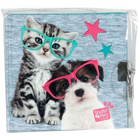 Pamiętnik Studio Pets - kotek i piesek