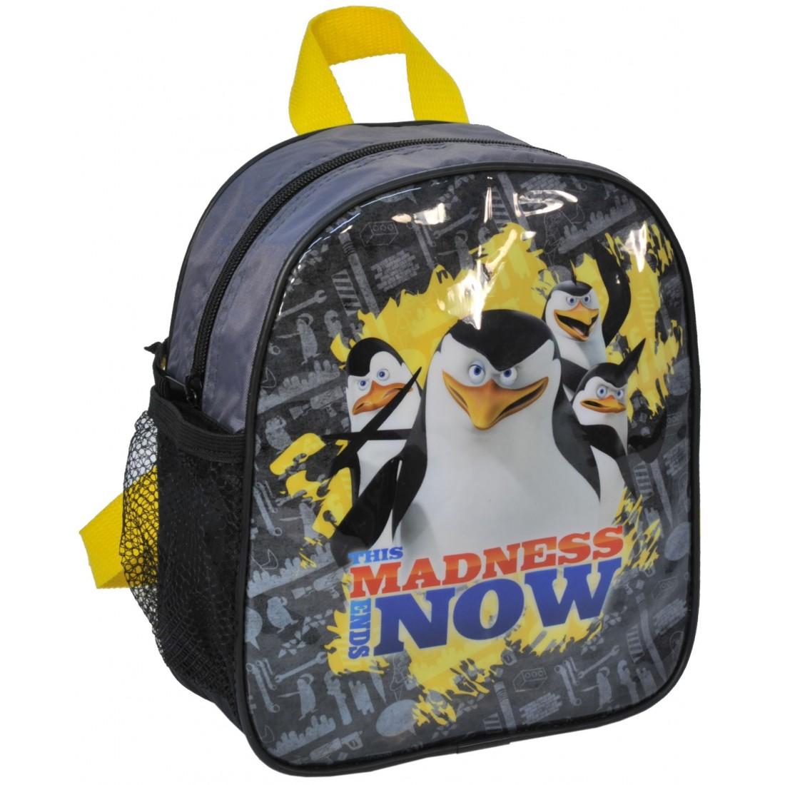 Plecaczek Pingwiny z Madagaskaru - plecak-tornister.pl