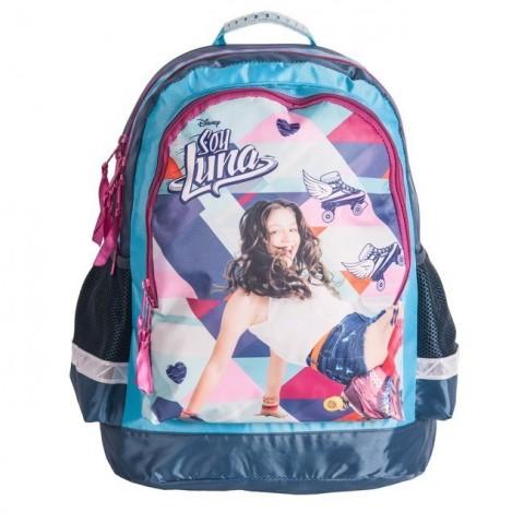 Plecak szkolny Soy Luna - niebiesko-różowy